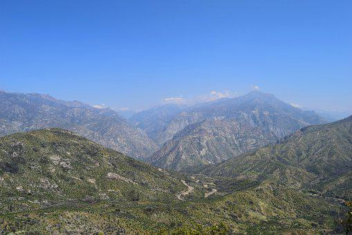 Mountains, Nature, Landscape, Panoramic, Sky, Outdoors