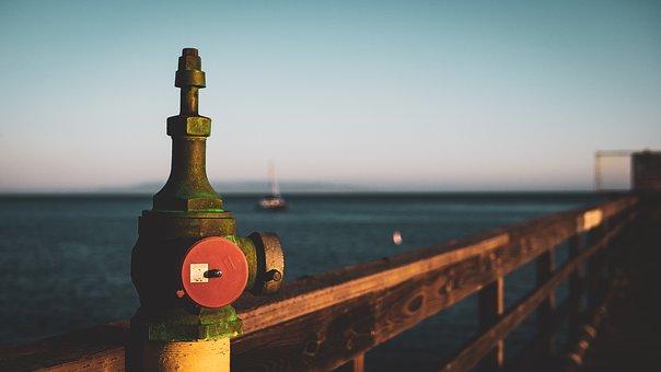 Water, Sea, Pier, Sky, Outdoors, Sunset, Travel, Harbor