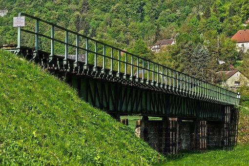 Bridge, Seemed, Railway Bridge, Old Bridge, Gleise