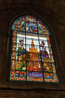Church, Cathedral, Lead Glass, Religious, Religion