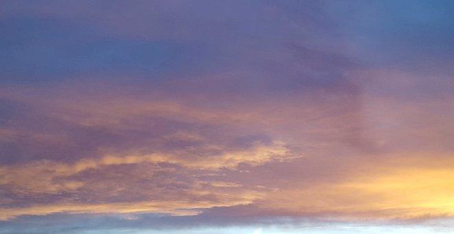 Cloud, Afterglow, Sunset, Abendstimmung, Sky