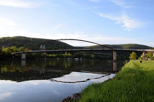 Main Bridge, Bridge, Old Mainbrücke, Swiss Francs