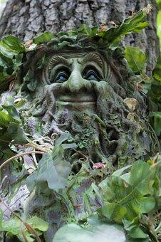 Nature, Statue, Leaf, Tree, Flora, Sculpture, Garden