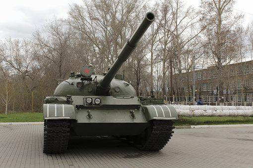 Military, War, Army, Vehicle, Weapons, Trunk, Tank
