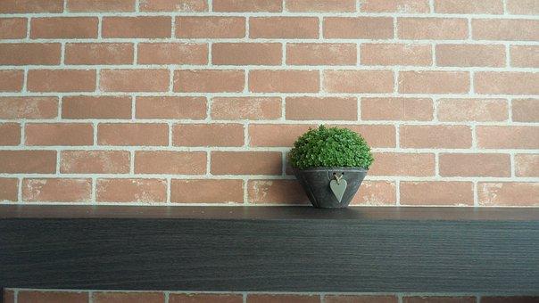 Wall, Brick, Old, Cement, Desktop, Concrete, Inside