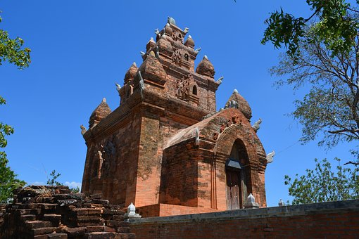 Architecture, Travel, Ancient, Old, Religion, Vietnam