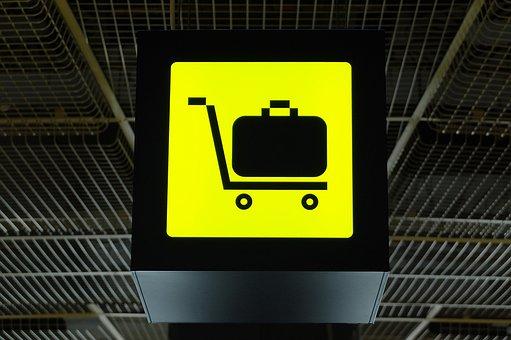 Luggage, Bag, Sign, Billboard, Symbol, Icon, Pictogram