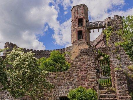 Burgruine, Ruin, Fortress, Masonry
