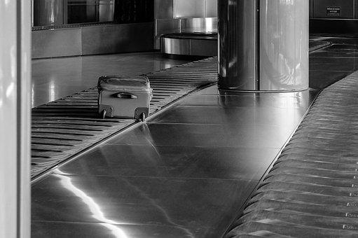 Luggage Conveyor, Carousel, Airport, Bag, Terminal