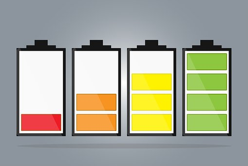 Battery, Cells, Energy, Technology, Icon, Power