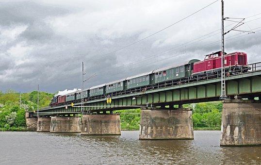 Railway, Nostalgia Ride, Mosel Bridge, Conc - Hedgehog