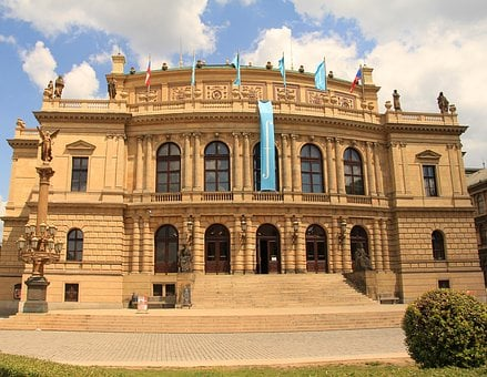 Concert Hall, Prague, Czechia, Neorenaissance