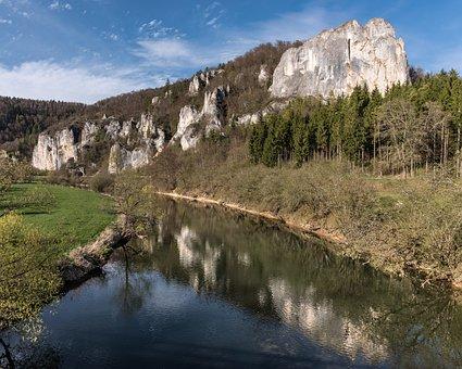 Danube, Danube Valley, Hausen, Lime Rock, Waters