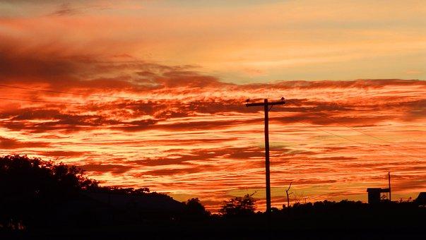 Sunset, Dawn, Dusk, Sky, Nature, Outdoors, Evening