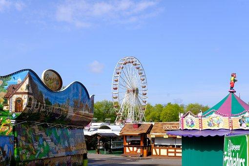 Fairground, Festival Site, Festival, Folk Festival