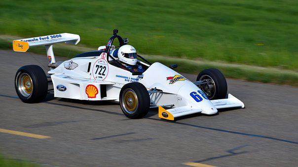 Hillclimb, Racing Car, Hämmerle Wh 85, Racing