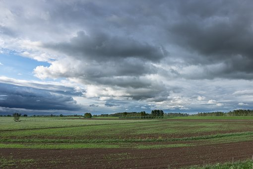 Panoramic, Landscape, Nature, The Dome Of The Sky, Farm