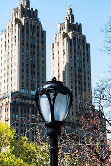Street Lamp, New York City, Central Park