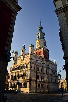 Architecture, The Town Hall, Poland, Poznan, Old Town