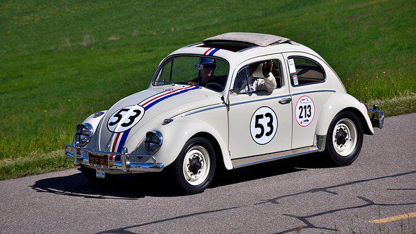 Vw Beetle, Hillclimb, Oldtimer, Herbie, Vehicles