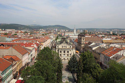 City, Town, Architecture, Cityscape, Travel, Panoramic