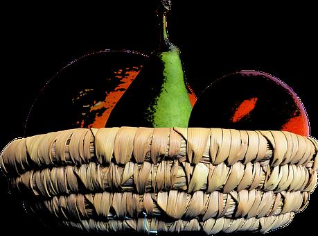 Nature, Image Vectorise, Fruit, Pear, Orange