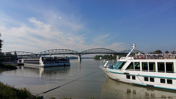 River, Travel, Sky, Pier, Bridge, Hungary