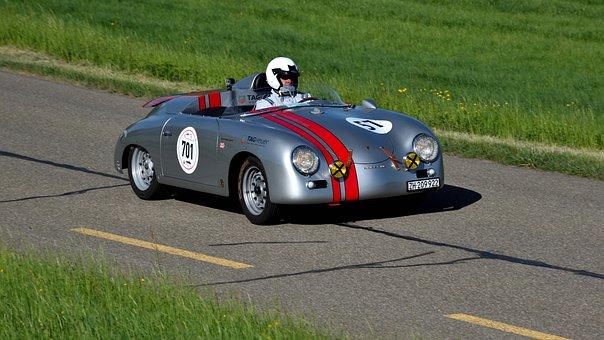 Porsche, 356, Gt, Speedster, Hillclimb, Oldtimer