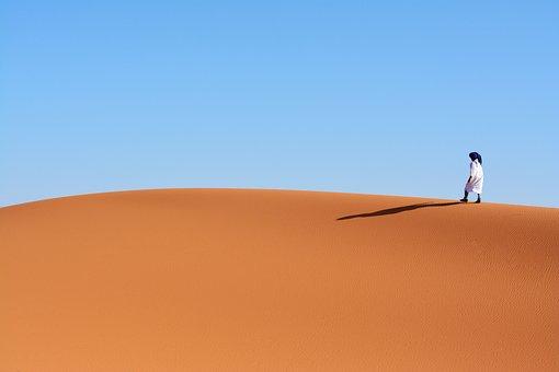 Desert, Sand, Sky, Outdoors, Dune, Adventure, Trip, Dry