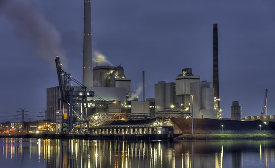 Mill, Pollution, Industry, Refinery, Smoke, Energy