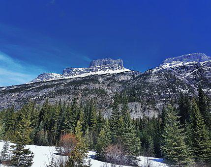 Snow, Mountain, Winter, Nature, Mountain Peak, Sky