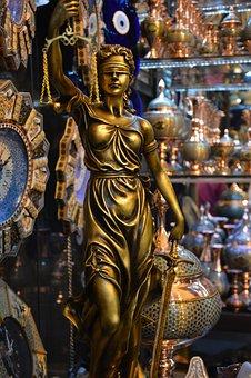 Justice, Statue, Sculpture