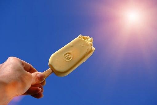 Ice, Ice Cream, Cold, Summer, Sun, Delicious, Sweet