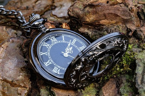 Clock, Pocket Watch, Time, Time Of, Time Indicating