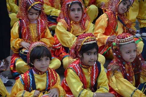 School Class, Human, Religion, Traditionally, Festival