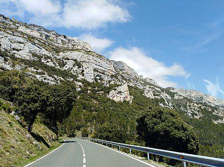 Mountain, Road, Nature, Landscape, Travel, Sky, Tree
