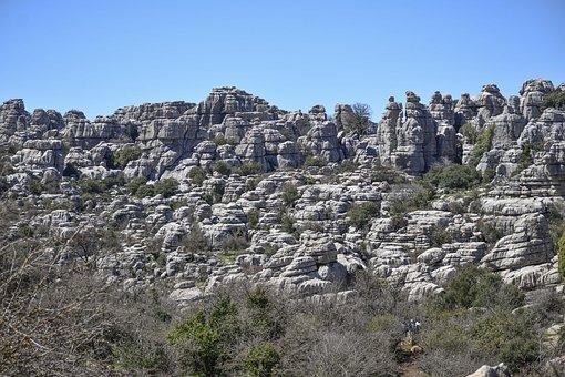 Nature, Sky, Landscape, Panoramic, Tree, Mountain, Rock