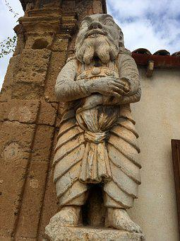Bagheria, Sicily, Villa, Palagonia, Sculpture, Statue