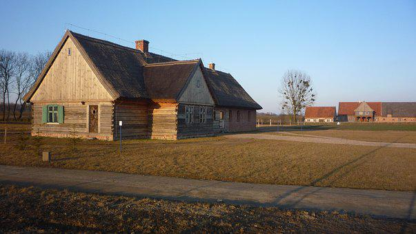 Open Air Museum, Old House, Architecture, Wooden House