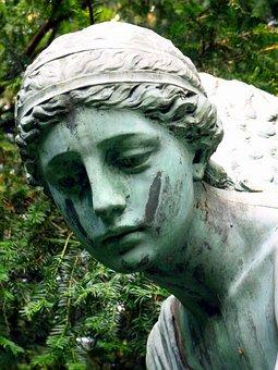 Angel, Angel Face, Head, Face, Looking Tenderly, Female
