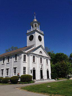 Church, Architecture, Massachusetts, New, England