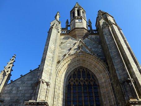 Guérande, Morbihan, Church, Bell Tower, Heritage, Salt