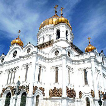 Moscow, Cathedral Of Christ The Saviour, Cathedral