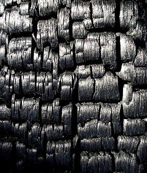 Black, Charcoal, Burnt, Burned, Burnt Wood, Wood