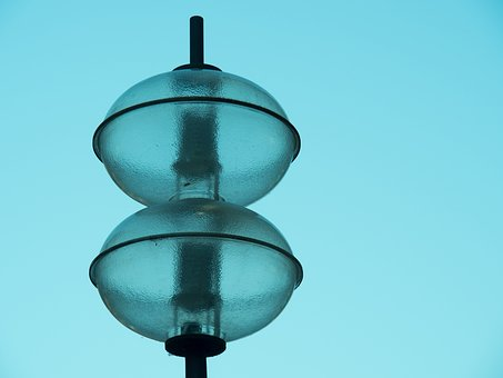 Lamp, Pendant, Comment, Light, Black, Gold, Darkness