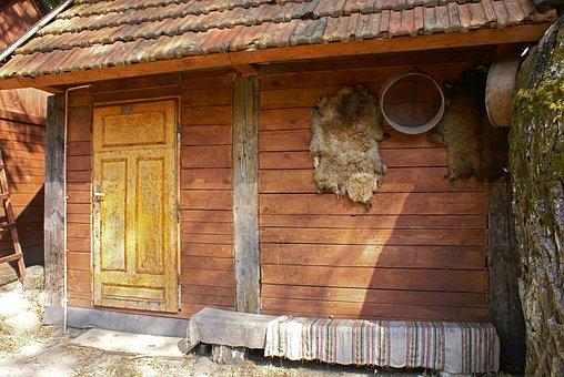Cottage, Old, Village, Rural Architecture, Ethnography