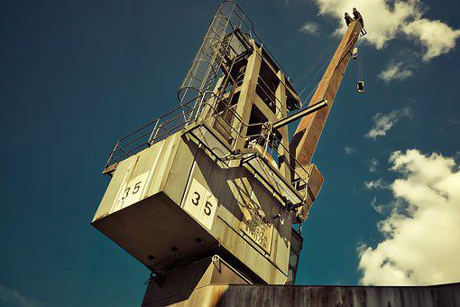 Crane, Load Crane, Lift Loads, Lifting Crane, Industry