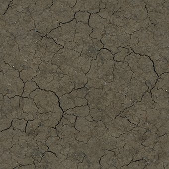 Crackled, Ground, Earth, Dry, Land, Texture, Crack