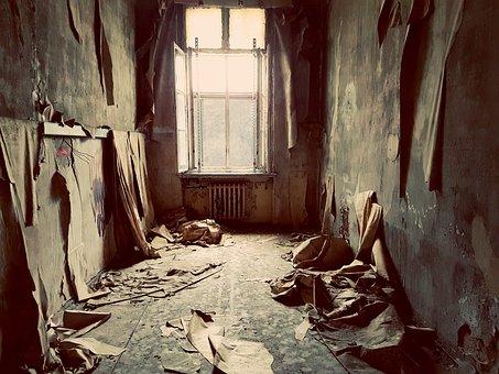Room, Leave, Urbex, Empty, Window, Wallpaper