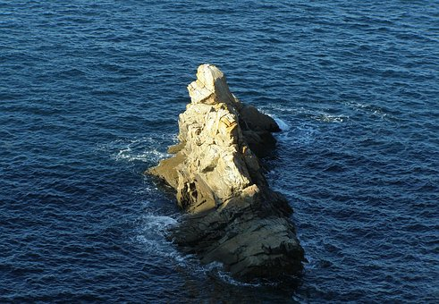 Rock, Brittany, Sea, Holiday, Coast, Rocky Coast